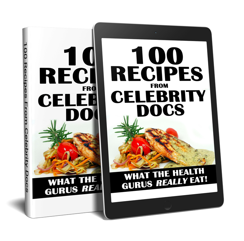 Jonny Bowden | 100 Recipes from Celebrity Docs | Centerpointe Research Institute
