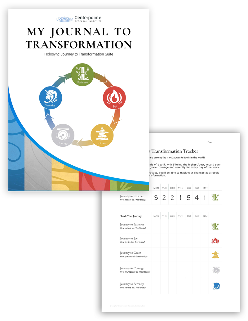 Journey To Transformation Suite | My Journal to Transformation | Centerpointe Research Institute